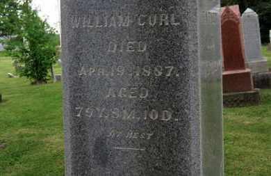 CURL, WILLIAM - Morrow County, Ohio   WILLIAM CURL - Ohio Gravestone Photos