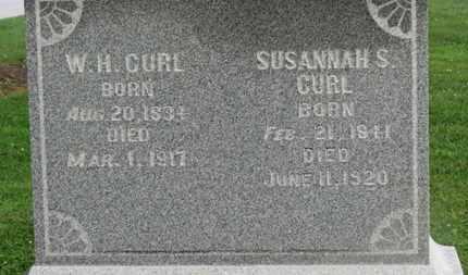 CURL, W.H. - Morrow County, Ohio | W.H. CURL - Ohio Gravestone Photos
