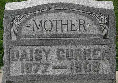 CURREN, DAISEY - Morrow County, Ohio | DAISEY CURREN - Ohio Gravestone Photos