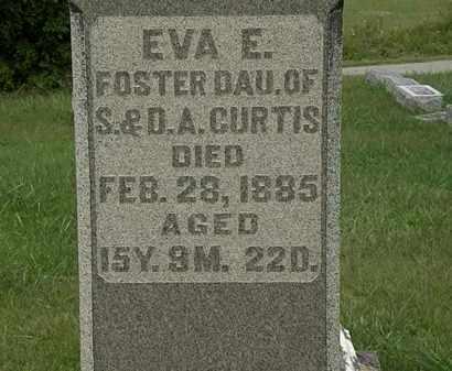CURTIS, EVA A. - Morrow County, Ohio   EVA A. CURTIS - Ohio Gravestone Photos
