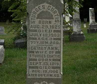 CURTIS, STURGES - Morrow County, Ohio | STURGES CURTIS - Ohio Gravestone Photos