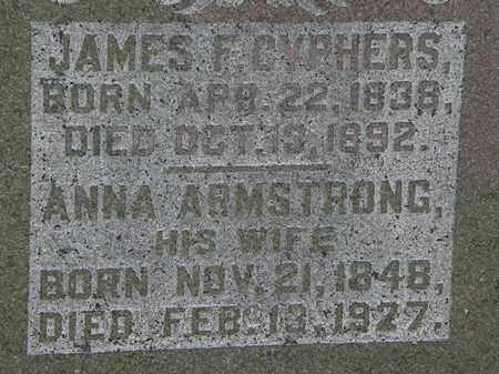 ARMSTRONG CYPHERS, ANNA - Morrow County, Ohio | ANNA ARMSTRONG CYPHERS - Ohio Gravestone Photos