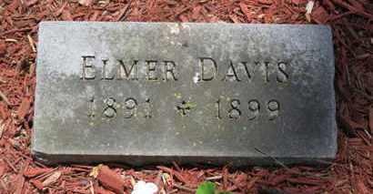 DAVIS, ELMER - Morrow County, Ohio | ELMER DAVIS - Ohio Gravestone Photos