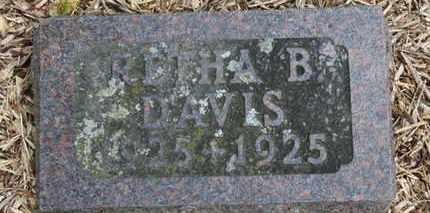 DAVIS, RETHA B. - Morrow County, Ohio   RETHA B. DAVIS - Ohio Gravestone Photos