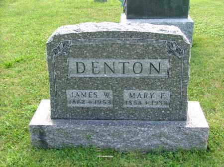 DENTON, MARY FRANCES (MAEVE) - Morrow County, Ohio | MARY FRANCES (MAEVE) DENTON - Ohio Gravestone Photos