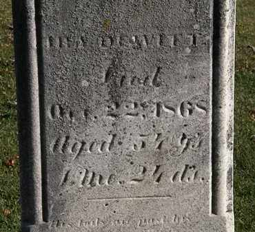 DEWITT, IRA - Morrow County, Ohio | IRA DEWITT - Ohio Gravestone Photos