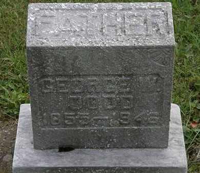 DODD, GEORGE W. - Morrow County, Ohio | GEORGE W. DODD - Ohio Gravestone Photos
