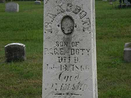 DOTY, ISAAC - Morrow County, Ohio | ISAAC DOTY - Ohio Gravestone Photos