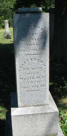 DOTY, JOHN - Morrow County, Ohio | JOHN DOTY - Ohio Gravestone Photos