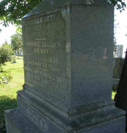 DOTY, MORGAN - Morrow County, Ohio | MORGAN DOTY - Ohio Gravestone Photos