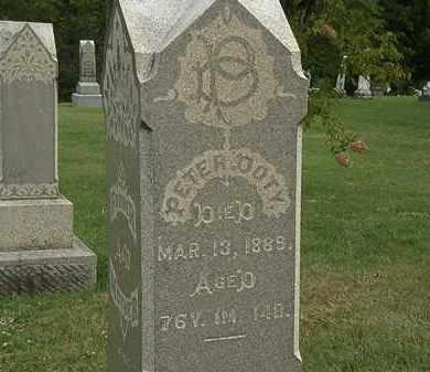 DOTY, PETER - Morrow County, Ohio   PETER DOTY - Ohio Gravestone Photos