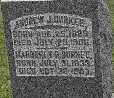 DURKEE, ANDREW J. - Morrow County, Ohio | ANDREW J. DURKEE - Ohio Gravestone Photos