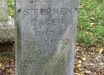 EAGER, STEPHEN - Morrow County, Ohio | STEPHEN EAGER - Ohio Gravestone Photos