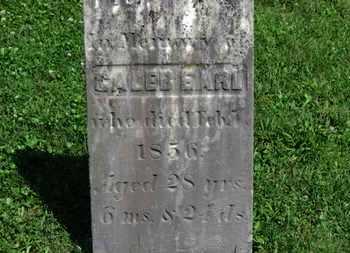 EARL, CALEB - Morrow County, Ohio   CALEB EARL - Ohio Gravestone Photos