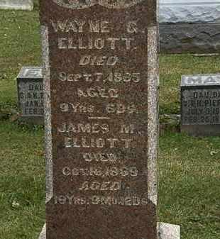 ELLIOT, WAYNE  G. - Morrow County, Ohio | WAYNE  G. ELLIOT - Ohio Gravestone Photos