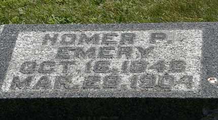 EMERY, HOMER P. - Morrow County, Ohio | HOMER P. EMERY - Ohio Gravestone Photos