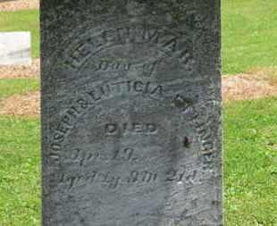 ETTINGER, HELEN MAR. - Morrow County, Ohio | HELEN MAR. ETTINGER - Ohio Gravestone Photos