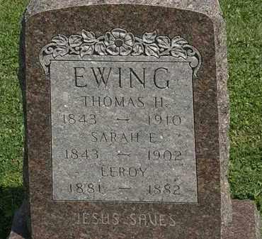 EWING, LEROY - Morrow County, Ohio | LEROY EWING - Ohio Gravestone Photos