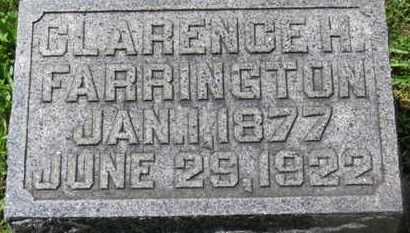 FARRINGTON, CLARENCE H. - Morrow County, Ohio   CLARENCE H. FARRINGTON - Ohio Gravestone Photos