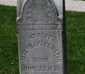 FARRINGTON, JOSEPH - Morrow County, Ohio   JOSEPH FARRINGTON - Ohio Gravestone Photos