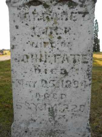 FATE, MARGARET - Morrow County, Ohio | MARGARET FATE - Ohio Gravestone Photos