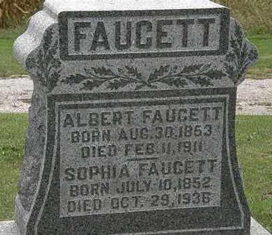 FAUCETT, ALBERT - Morrow County, Ohio | ALBERT FAUCETT - Ohio Gravestone Photos