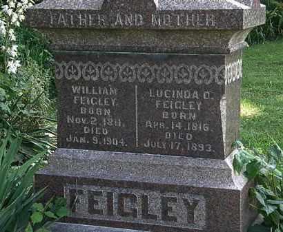 FEIGHLEY, LUCINDA - Morrow County, Ohio | LUCINDA FEIGHLEY - Ohio Gravestone Photos