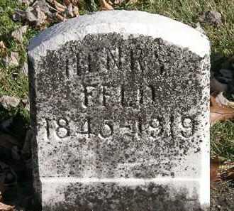 FELD, HENRY - Morrow County, Ohio | HENRY FELD - Ohio Gravestone Photos