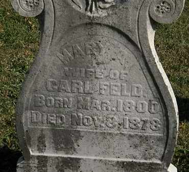 FELD, CARL - Morrow County, Ohio | CARL FELD - Ohio Gravestone Photos
