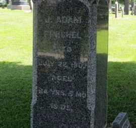 FINICHEL, J. ADAM - Morrow County, Ohio | J. ADAM FINICHEL - Ohio Gravestone Photos