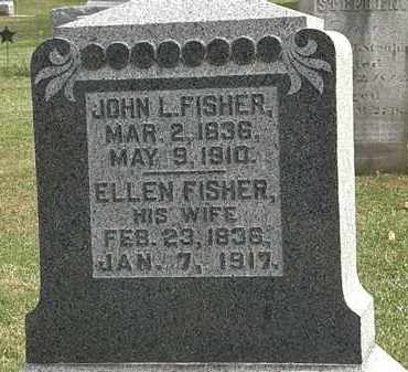 FISHER, ELLEN - Morrow County, Ohio | ELLEN FISHER - Ohio Gravestone Photos