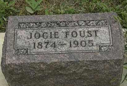 FOUST, JOCIE - Morrow County, Ohio | JOCIE FOUST - Ohio Gravestone Photos