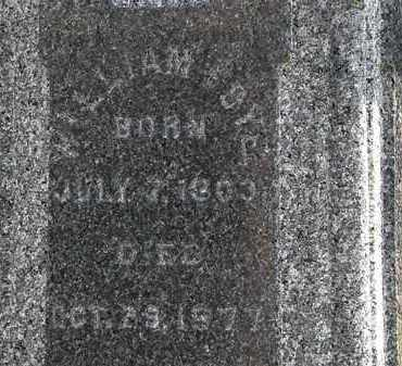 FOYE, WILLIAM - Morrow County, Ohio | WILLIAM FOYE - Ohio Gravestone Photos