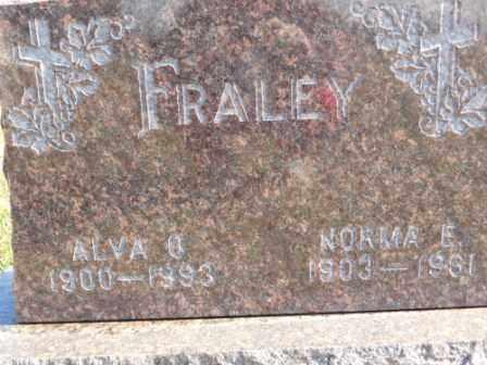FRALEY, NORMA E - Morrow County, Ohio | NORMA E FRALEY - Ohio Gravestone Photos