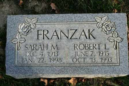FRANZAK, ROBERT L - Morrow County, Ohio   ROBERT L FRANZAK - Ohio Gravestone Photos