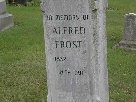 FROST, ALFRED - Morrow County, Ohio | ALFRED FROST - Ohio Gravestone Photos