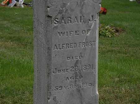 FROST, ALFRED - Morrow County, Ohio   ALFRED FROST - Ohio Gravestone Photos