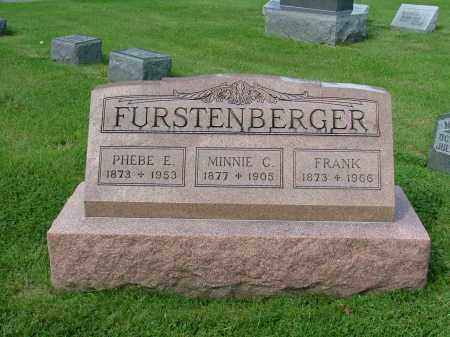 FURSTENBERGER, PHEBE E. - Morrow County, Ohio | PHEBE E. FURSTENBERGER - Ohio Gravestone Photos