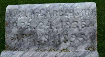 GARBERSON, WM. A. - Morrow County, Ohio | WM. A. GARBERSON - Ohio Gravestone Photos