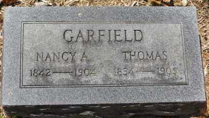 GARFIELD, NANCY A. - Morrow County, Ohio   NANCY A. GARFIELD - Ohio Gravestone Photos