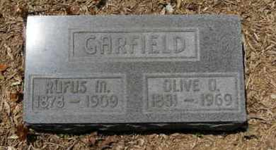 GARFIELD, RUFUS M. - Morrow County, Ohio | RUFUS M. GARFIELD - Ohio Gravestone Photos