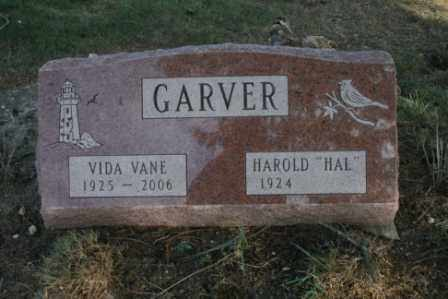 "GARVER, HAROLD ""HAL"" - Morrow County, Ohio | HAROLD ""HAL"" GARVER - Ohio Gravestone Photos"