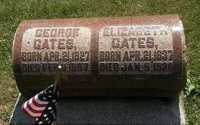 GATES, GEORGE - Morrow County, Ohio | GEORGE GATES - Ohio Gravestone Photos
