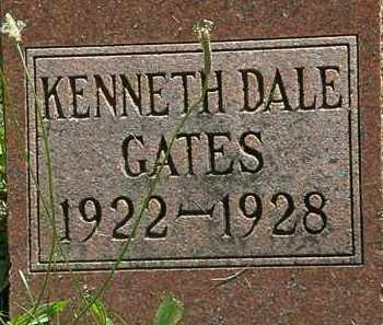 GATES, KENNETH DALE - Morrow County, Ohio | KENNETH DALE GATES - Ohio Gravestone Photos