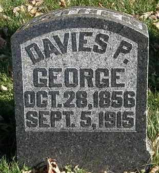 GEORGE, DAVIES P. - Morrow County, Ohio | DAVIES P. GEORGE - Ohio Gravestone Photos