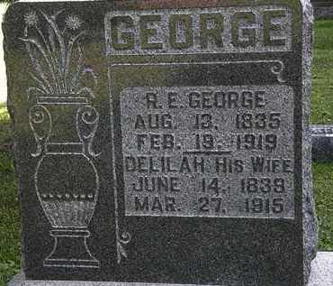GEORGE, R.E. - Morrow County, Ohio | R.E. GEORGE - Ohio Gravestone Photos