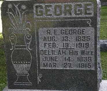 GEORGE, DELILAH - Morrow County, Ohio   DELILAH GEORGE - Ohio Gravestone Photos