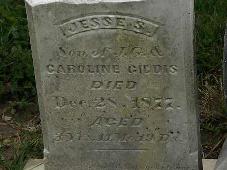 GIDDAS, JESSE S. - Morrow County, Ohio   JESSE S. GIDDAS - Ohio Gravestone Photos