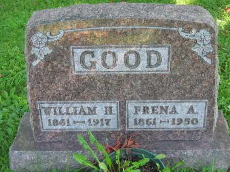 GOOD, WILLIAM H. - Morrow County, Ohio | WILLIAM H. GOOD - Ohio Gravestone Photos