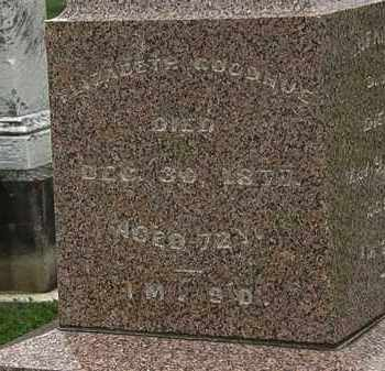 GOODHUE, ELIZABETH - Morrow County, Ohio   ELIZABETH GOODHUE - Ohio Gravestone Photos